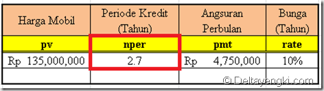 fungsi nper 2