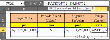 fungsi rate